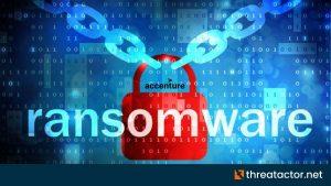 Accenture LockBit ransomware attack